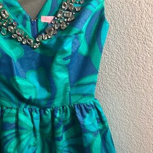 NWOT Lilly Pulitzer Kaya Brewster Jeweled Dress